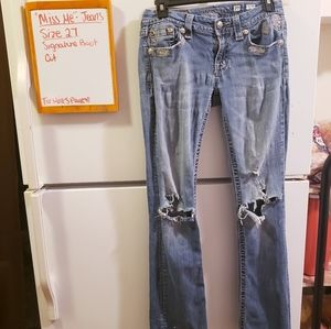 Miss me jeans distressed size 27